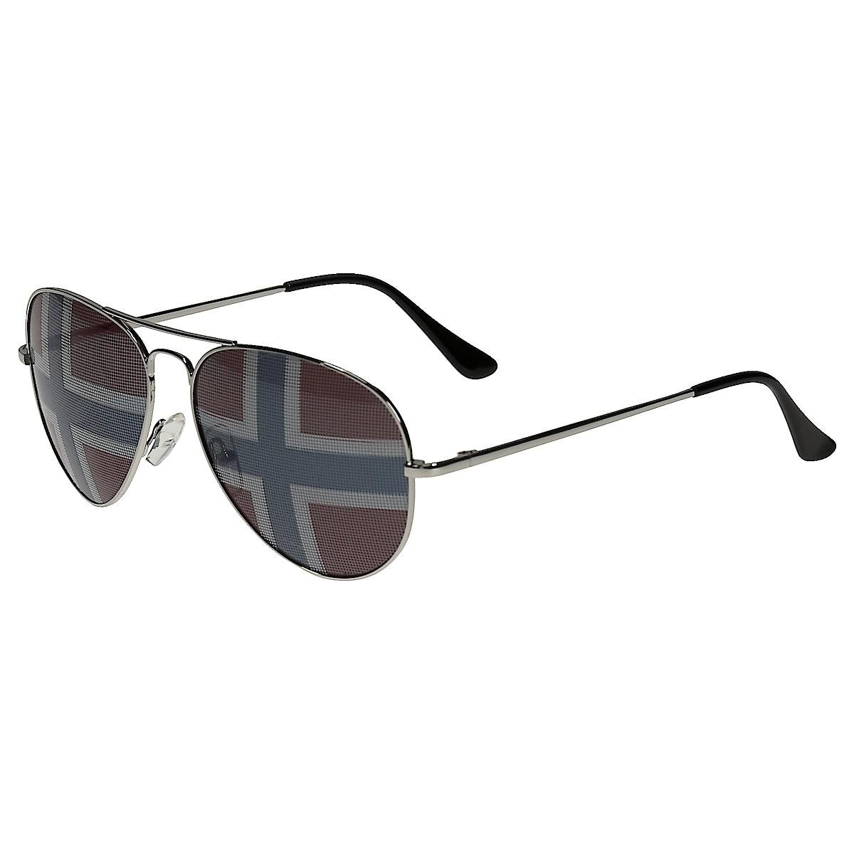 Solbriller med flagg