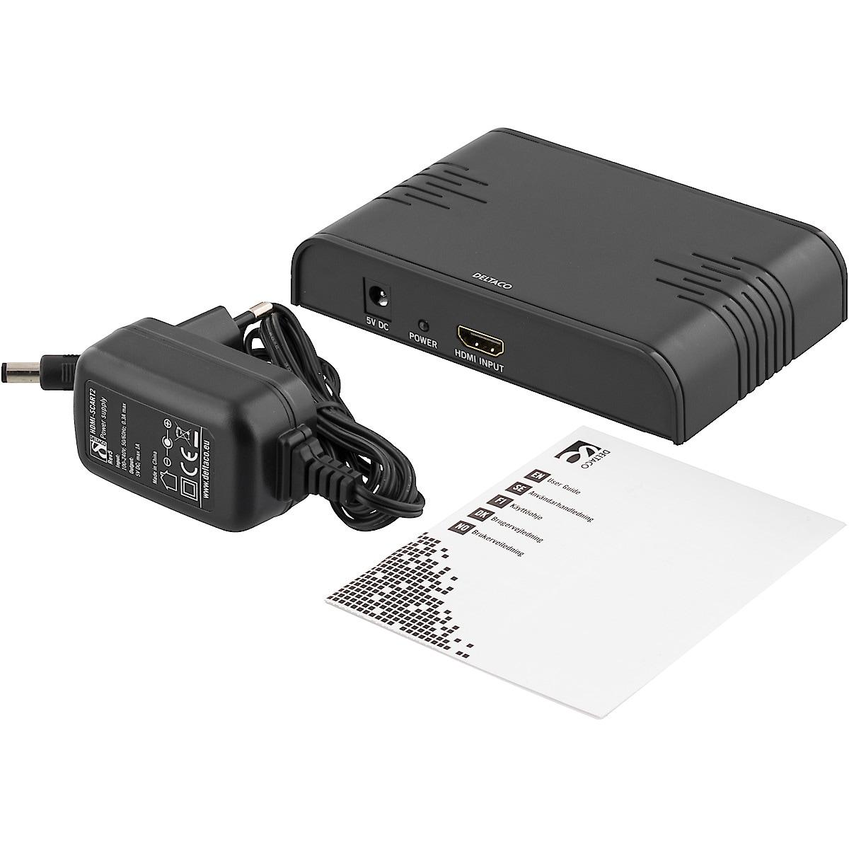 Signalomvandlare HDMI till SCART