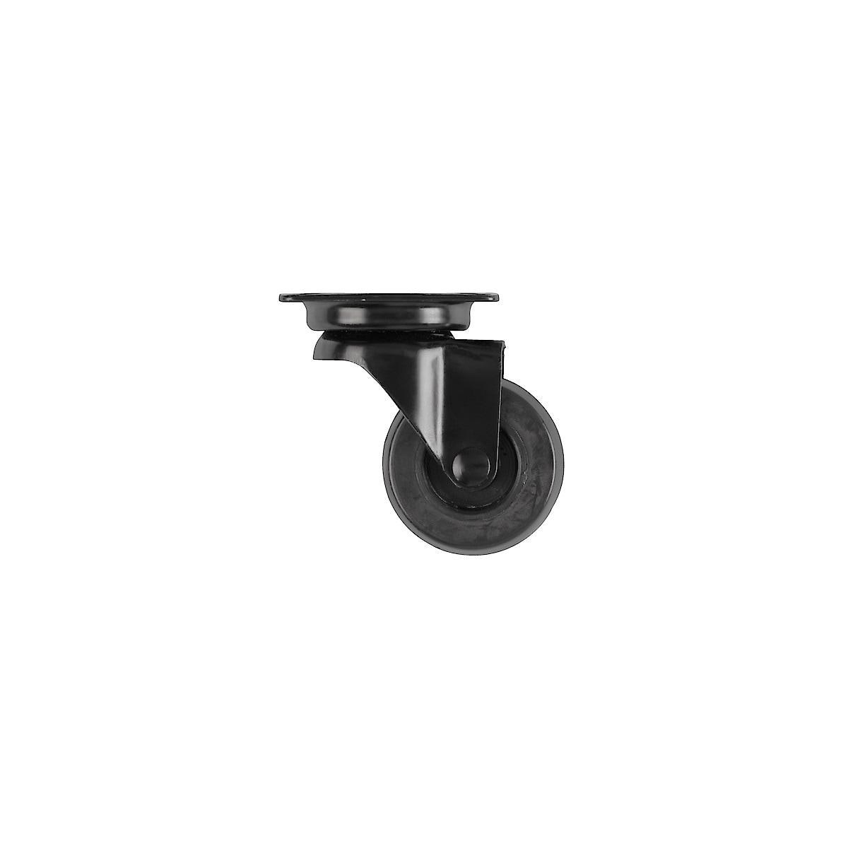 Möbelhjul svart