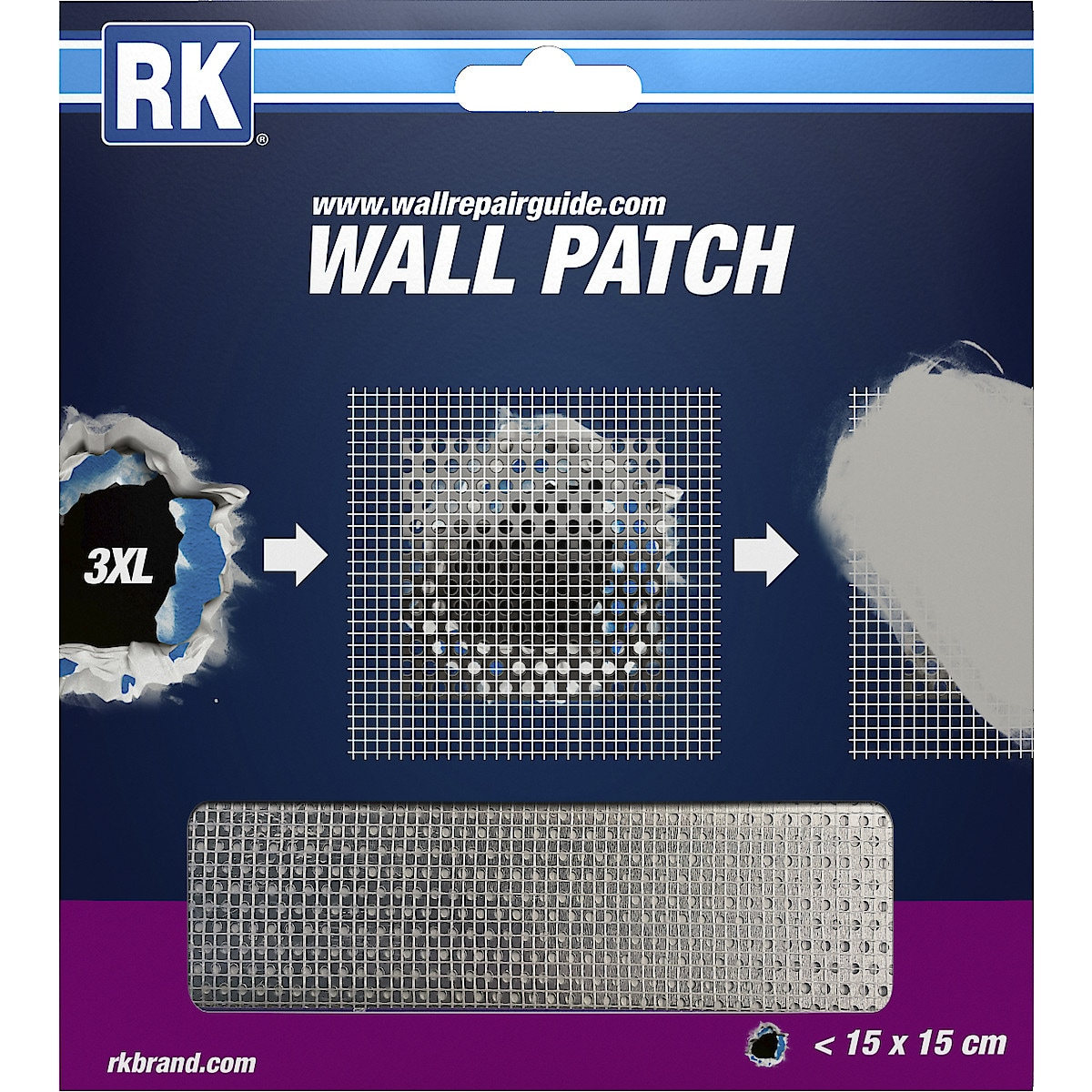 RK Wall Patch, 15 x 15 cm