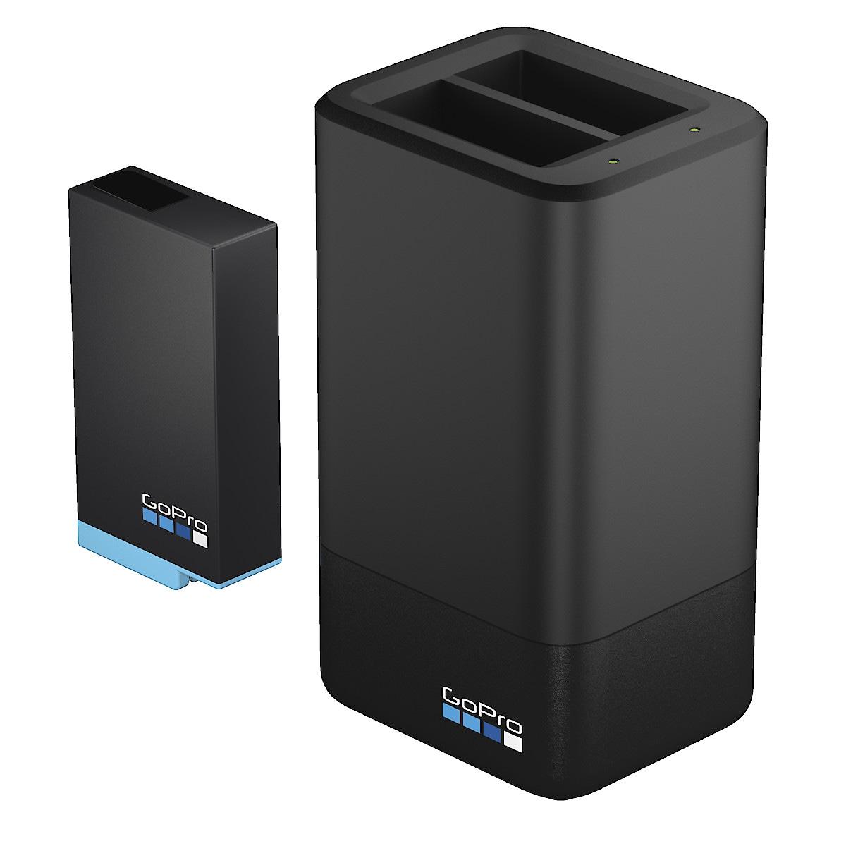 Laddare och extra batteri till GoPro MAX