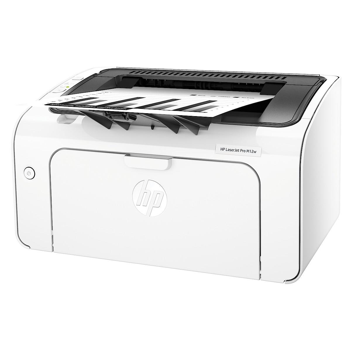 HP LaserJet Pro M12W laserskriver