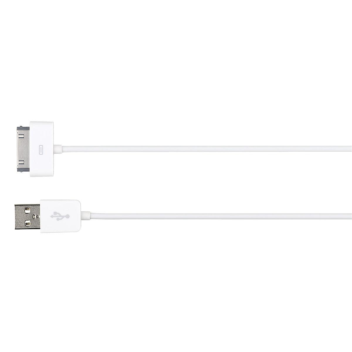 Latauskaapeli iPodille/iPhonelle/iPadille, Exibel