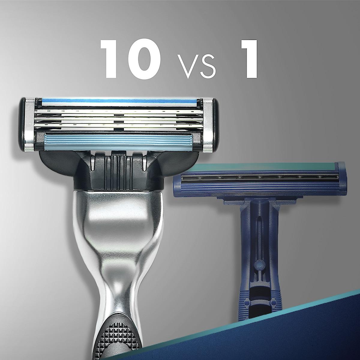 Gillette Mach3 barberblader, 8-pack