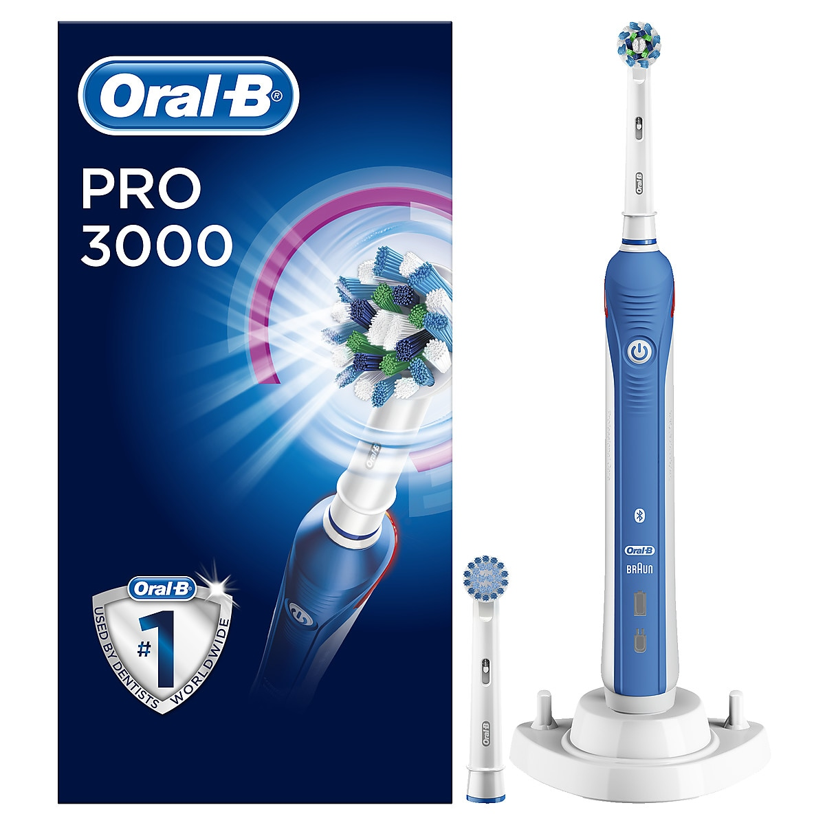 Sähköhammasharja Oral-B PRO 3000 Cross Action