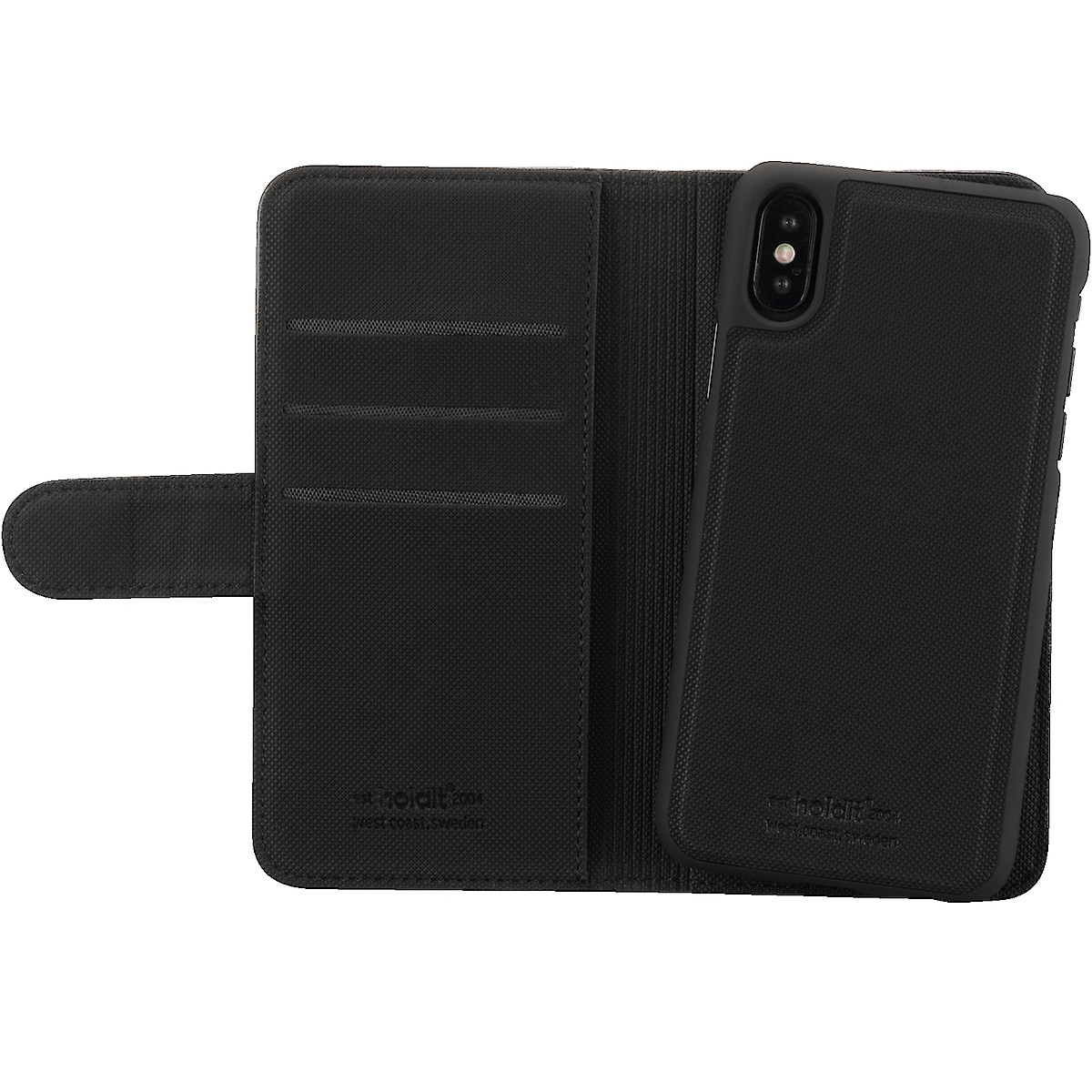 Lompakkokotelo iPhone X/XS, Holdit