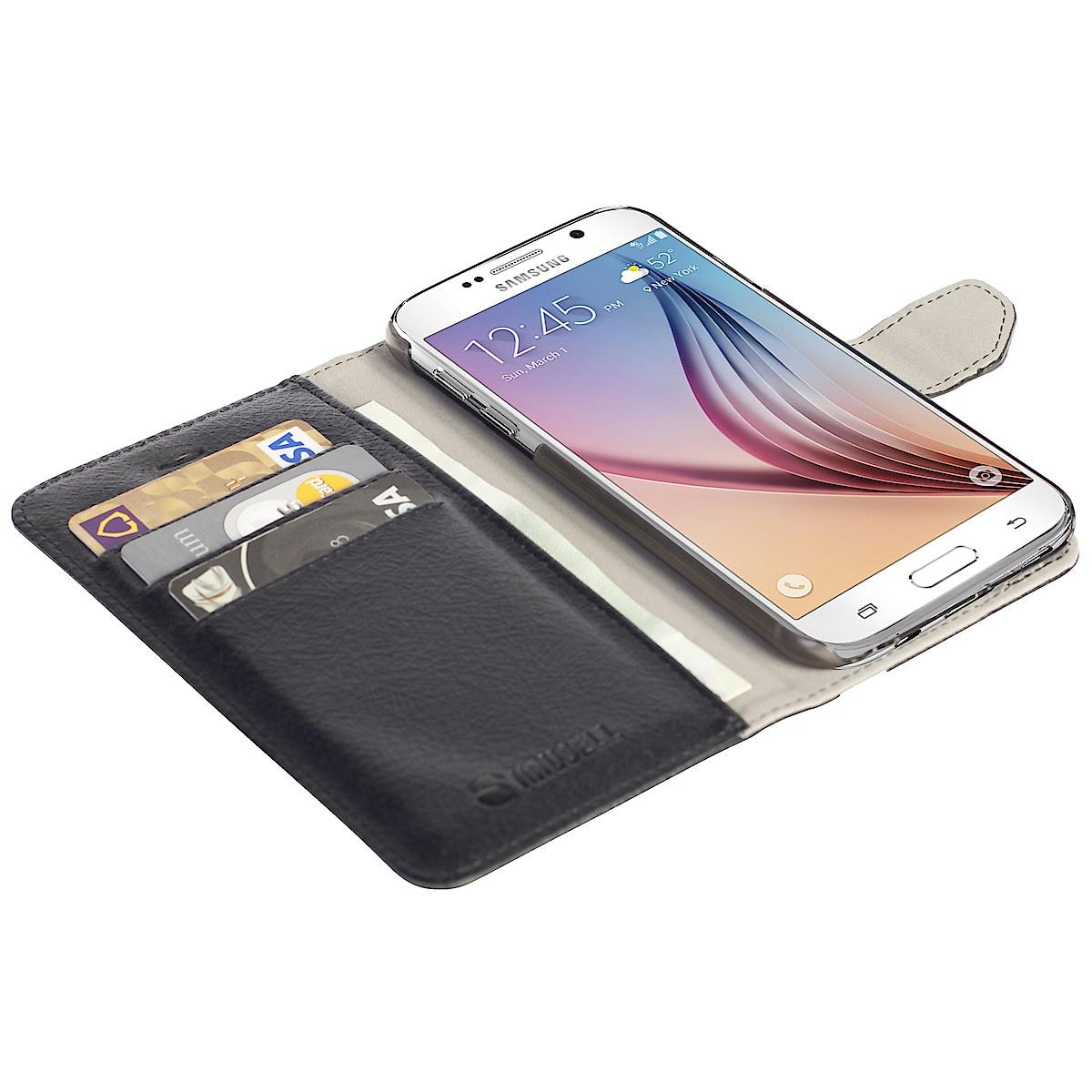 Lompakkokotelo Samsung Galaxy S7 Edgelle, Krusell Borås FolioWallet