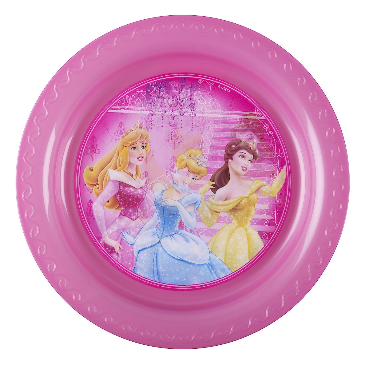 Disney flat plasttallerken