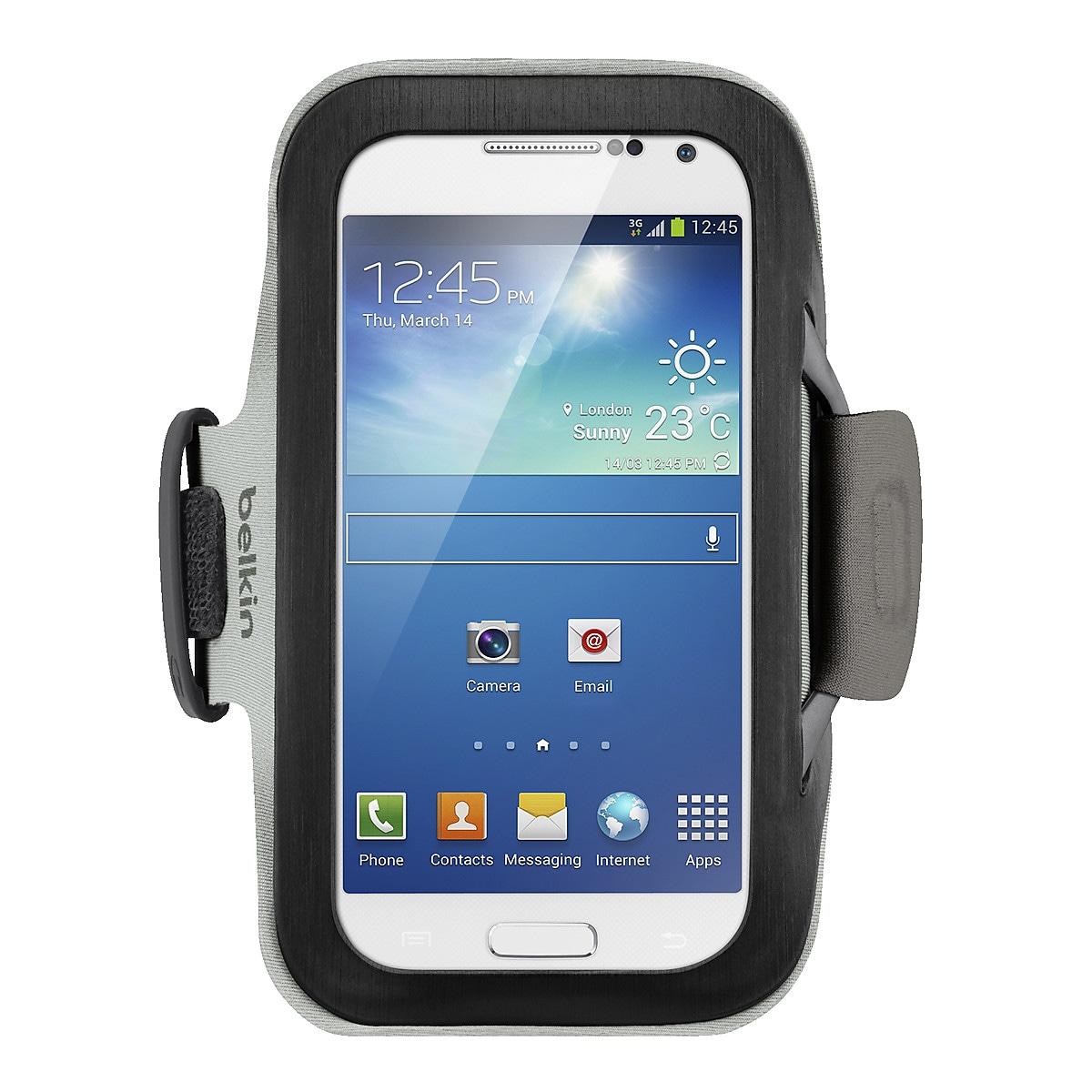 Käsivarsikotelo Samsung Galaxylle, Belkin Slim Fit
