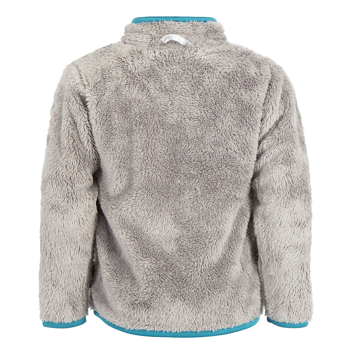 Children's Teddy Fleece Jacket, Grey