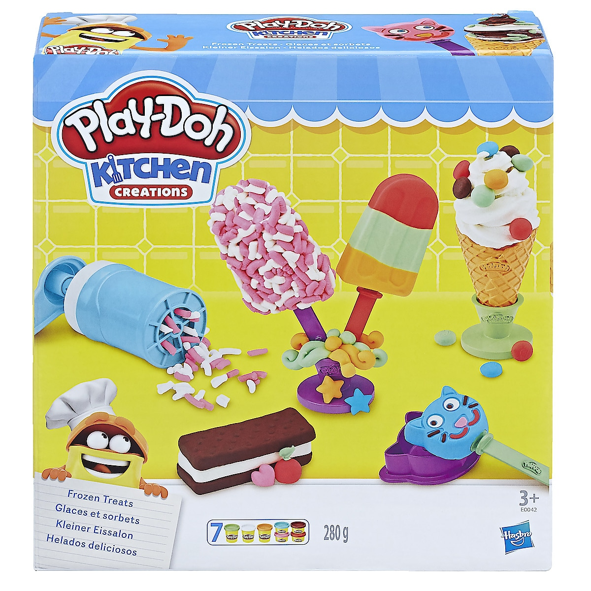 Play-Doh Frozen Treats Set, lekeleire