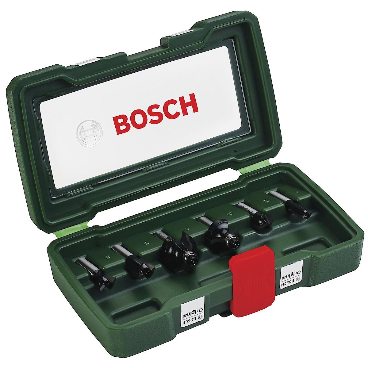 Fräsar Bosch 6 delar