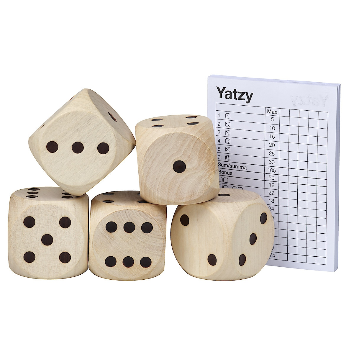 Utendørsspill Yatzy