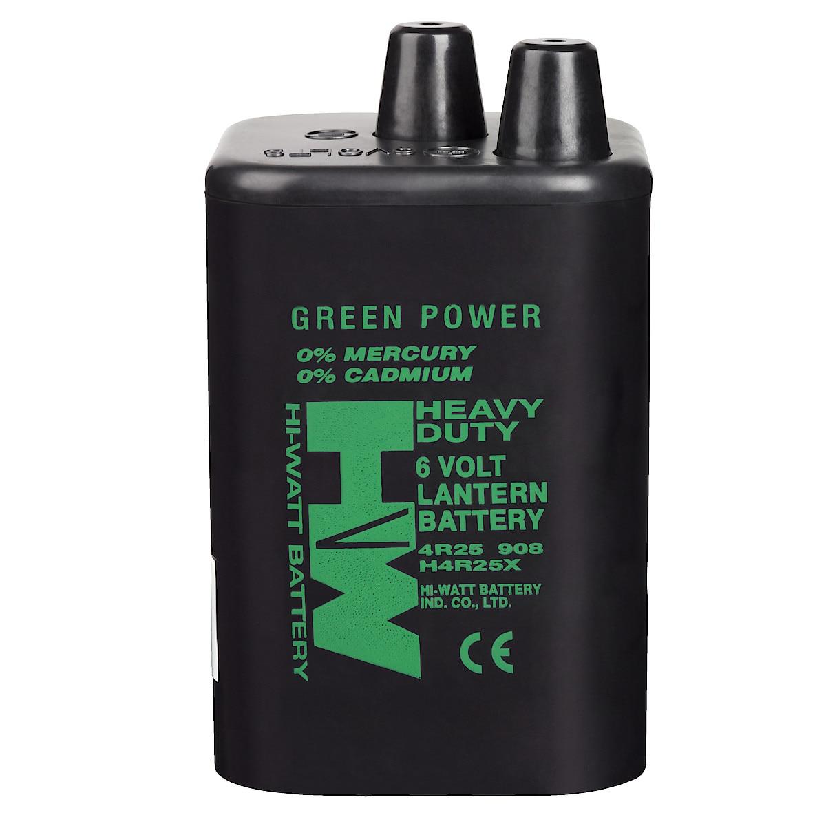 Hi-Watt 4R25 brunstensbatteri