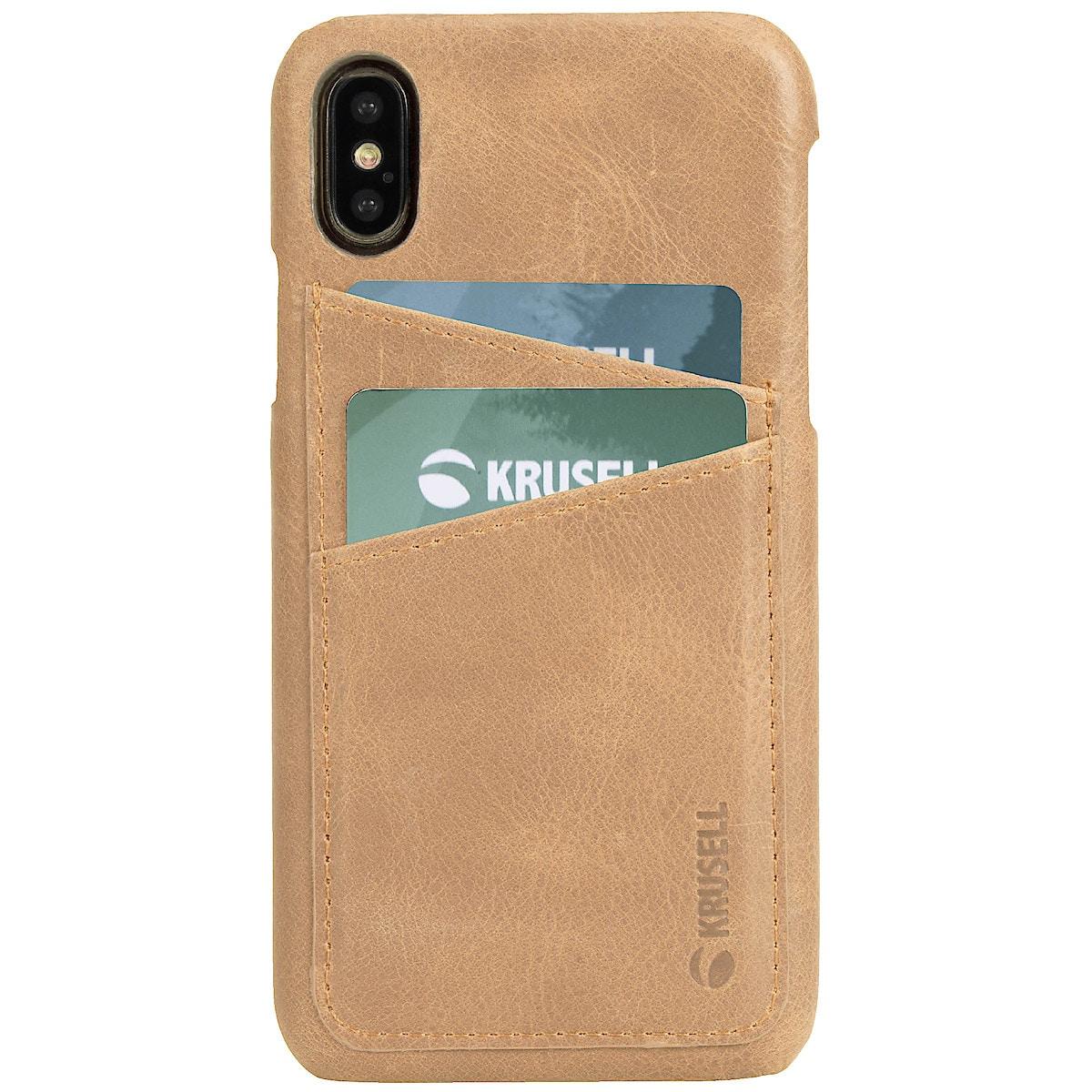 Plånboksfodral för iPhone X/XS Krusell Sunne