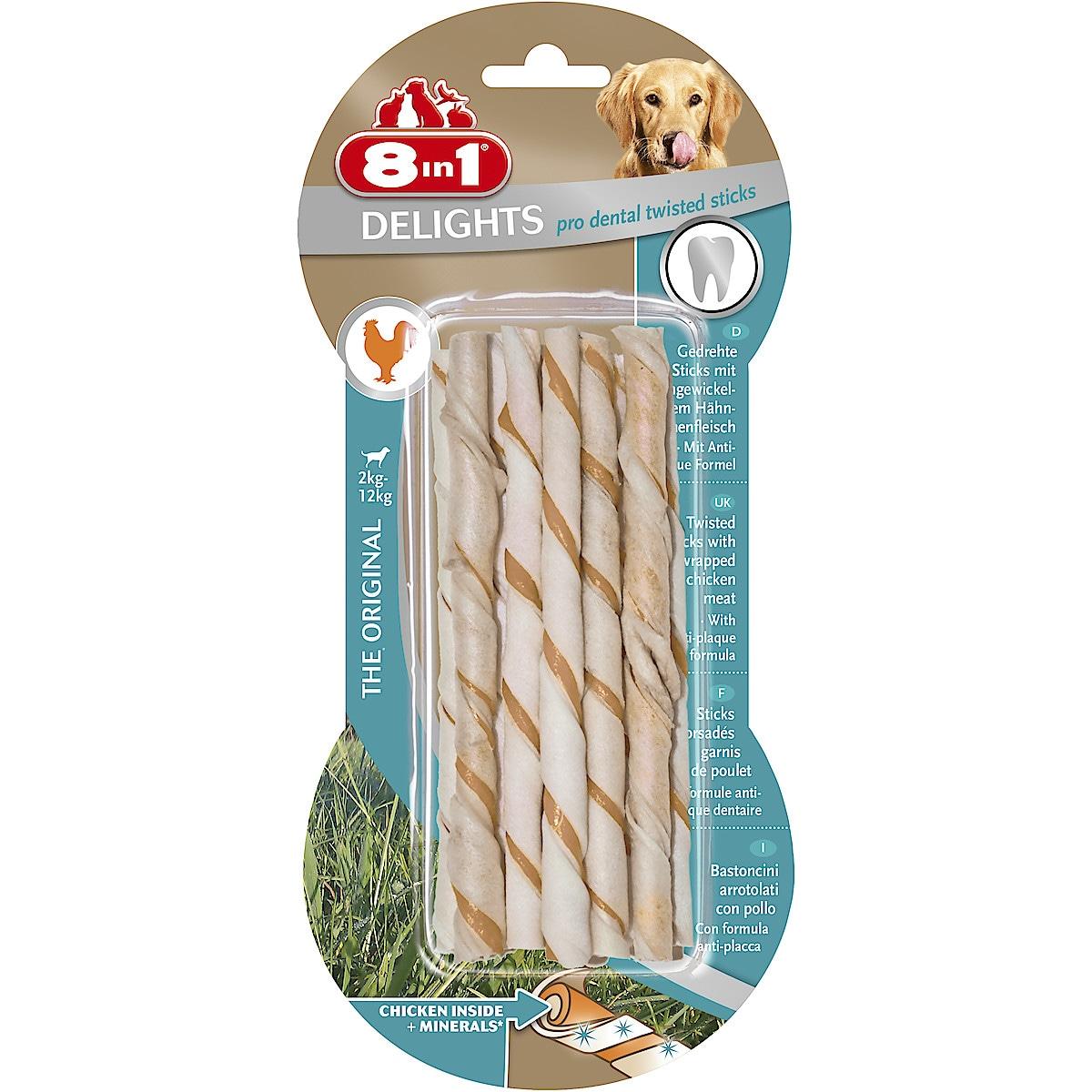 8in1 Pro Dental Twist Chew Sticks