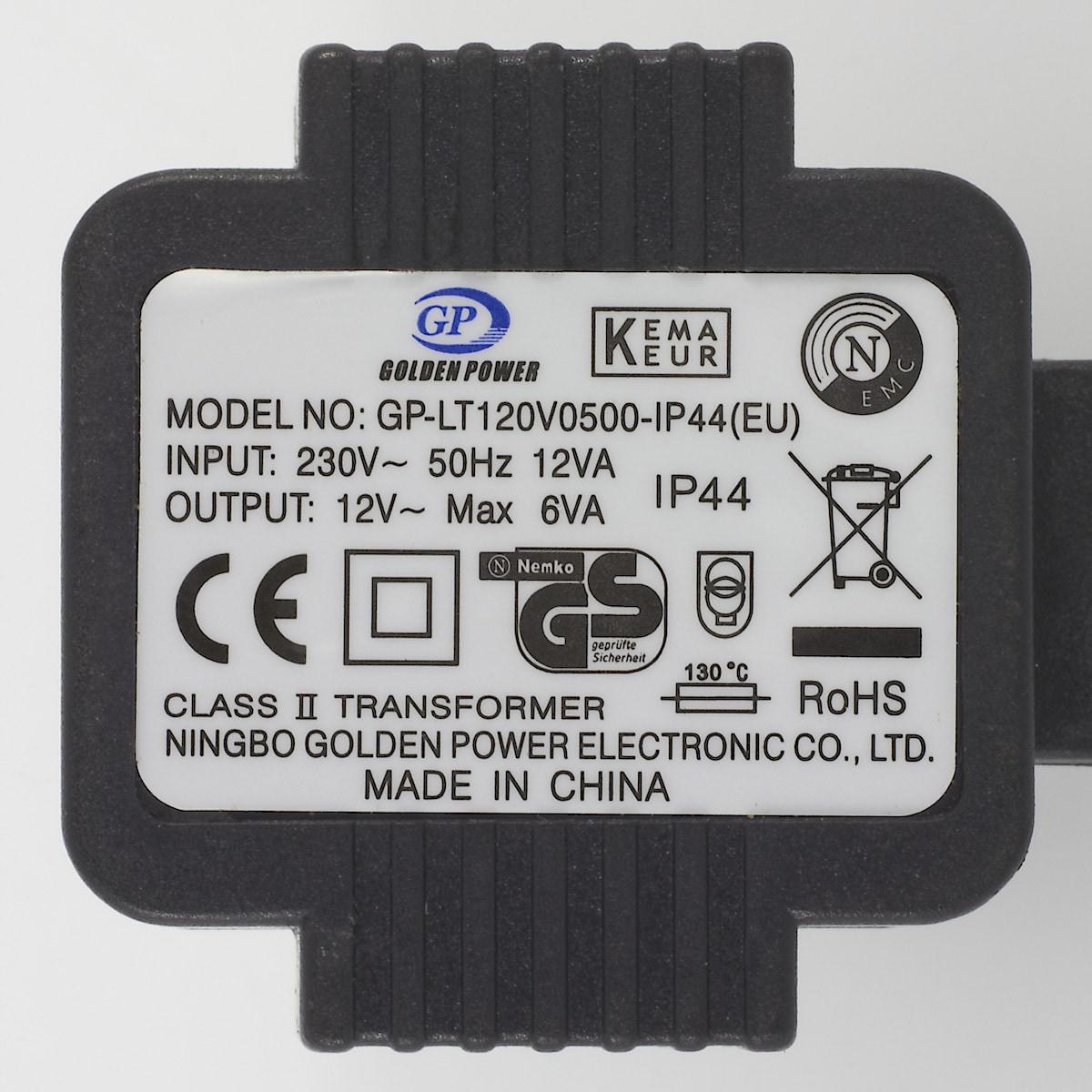 Transformator 12 V