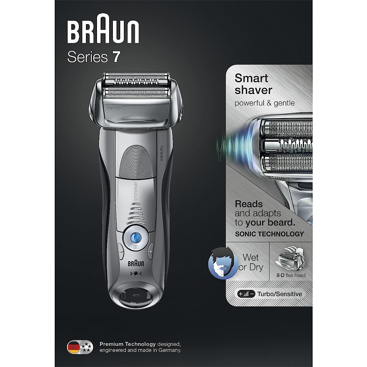 Partakone Braun Series 7 7893s Wet & Dry