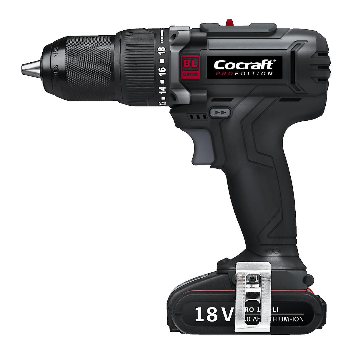 Cocraft PRO Edition DH18-BL drill