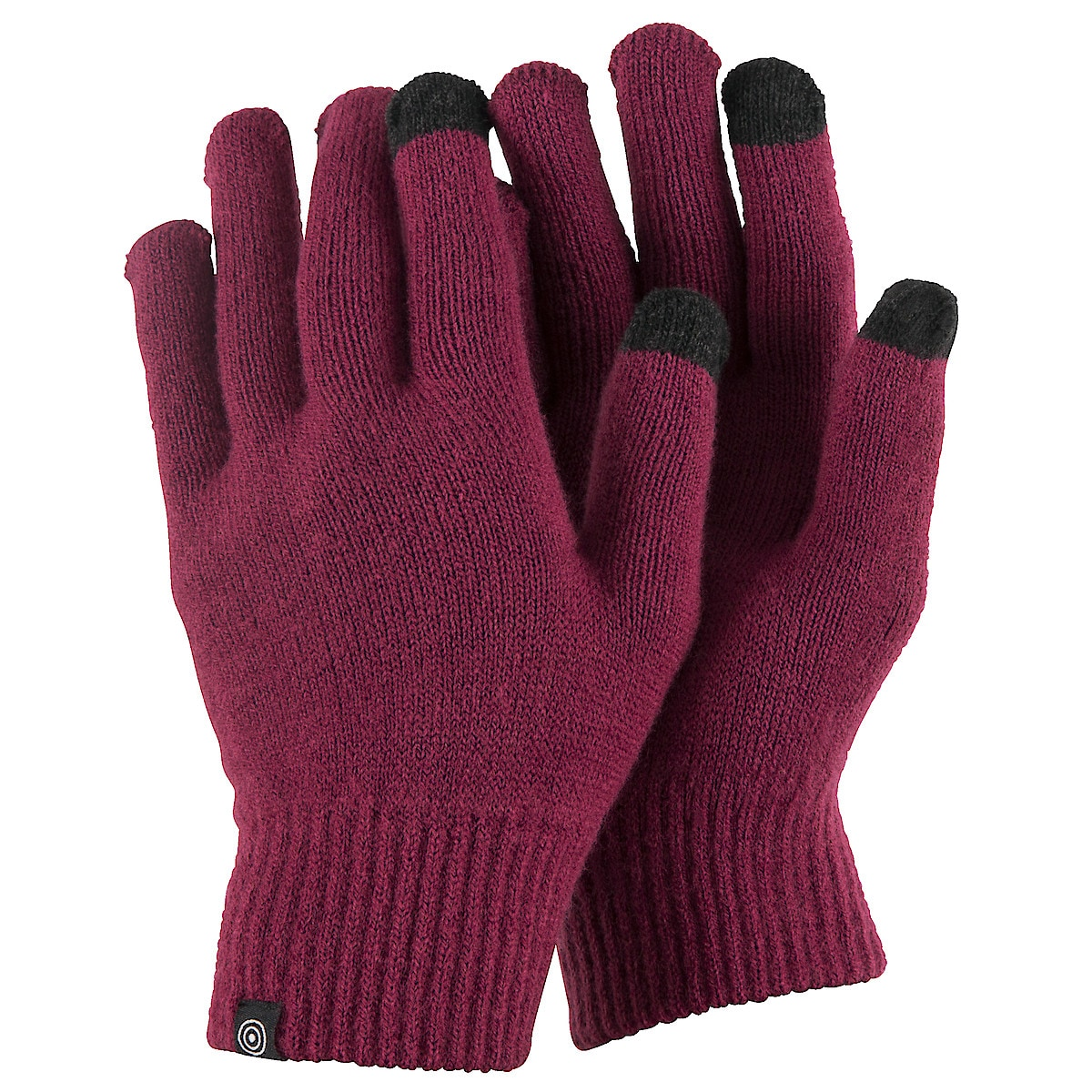 Fingervantar med touch rosa