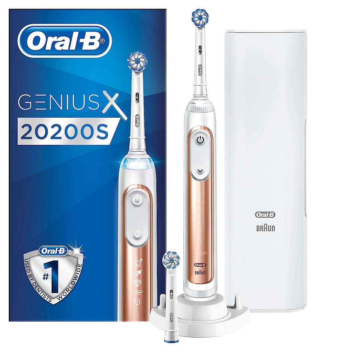 Oral-B Genius X 20200S, Rose Gull Eltannbørste