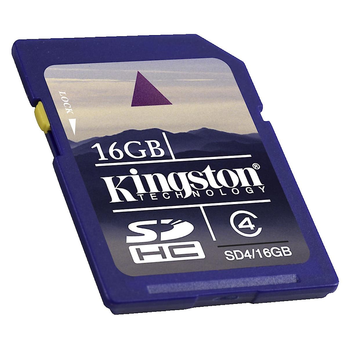 SDHC minneskort Kingston