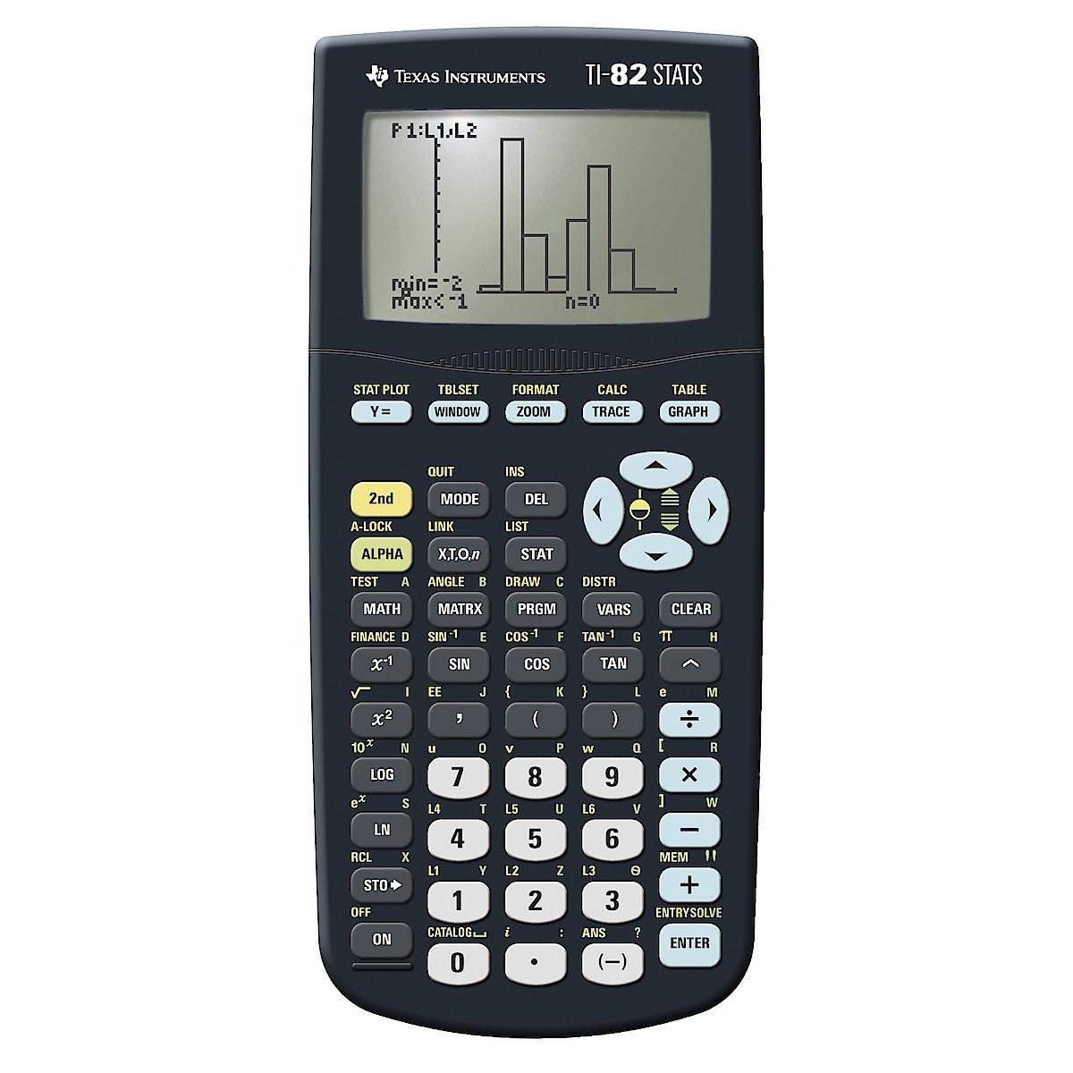 Taschenrechner Texas TI-82 STATS