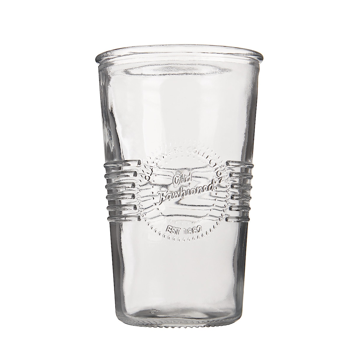 Flaska med 4 glas, Old-Fashioned