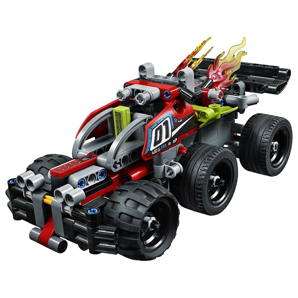 LEGO Technic 42073, BUMMS!