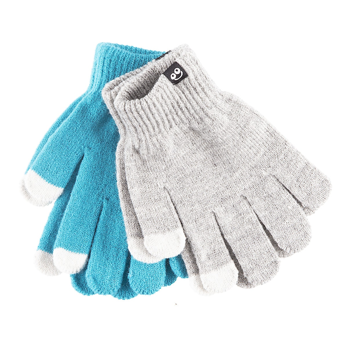 Childrens Touch Screen Gloves, 2-pack