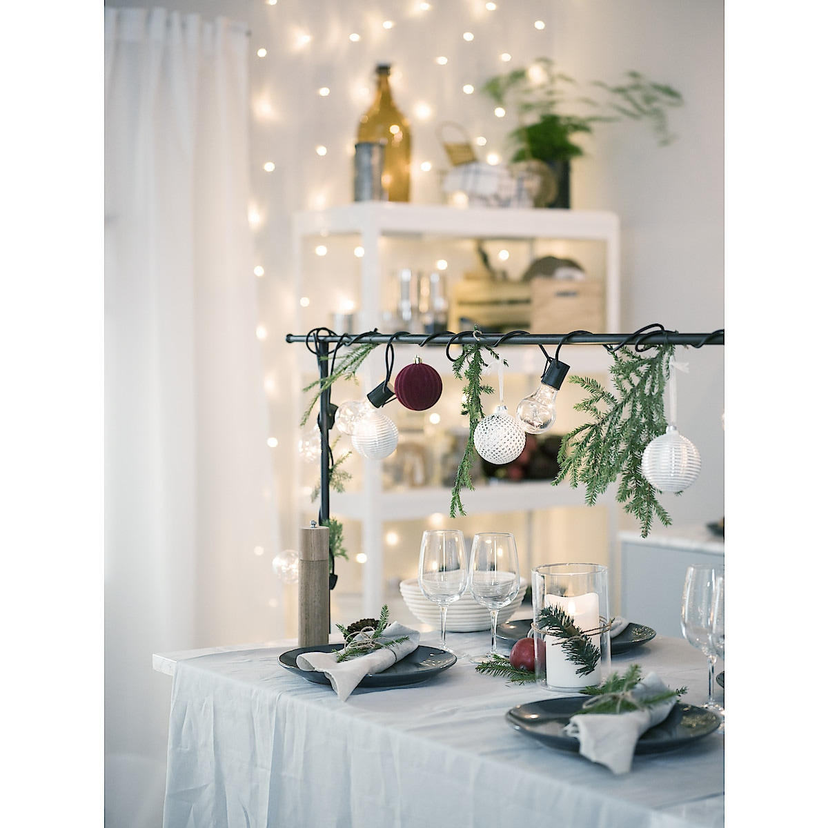 Dekorationsställning för bord
