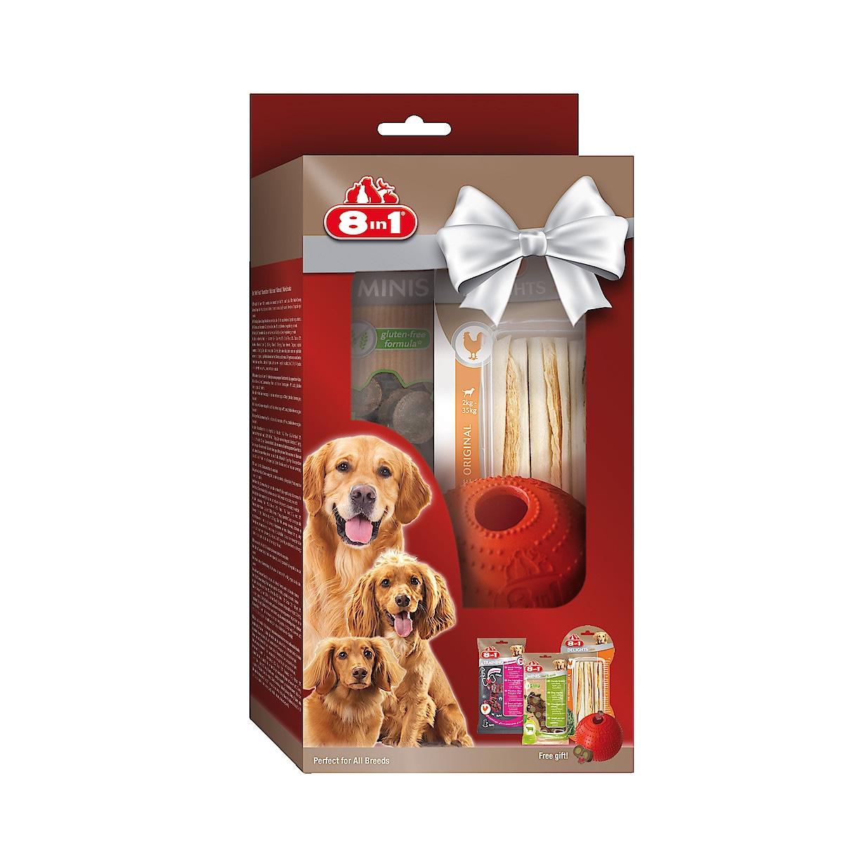 Presentset till hund, 8in1