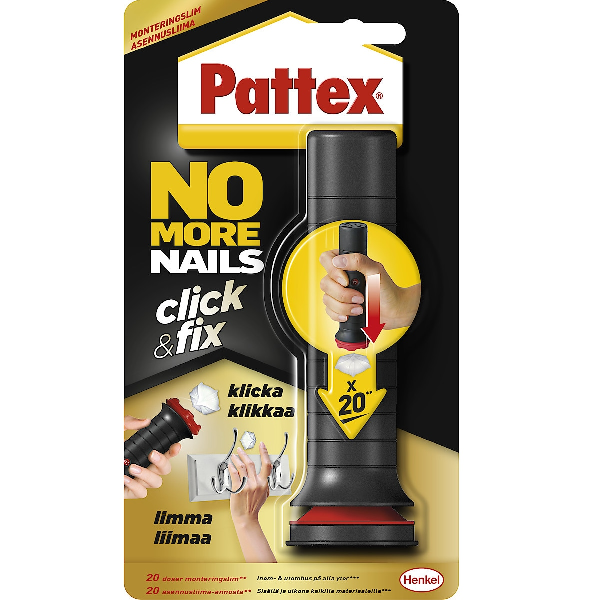 Montagelim Click & Fix, Pattex