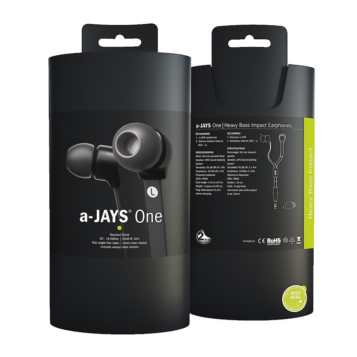 A-Jays One hodetelefon