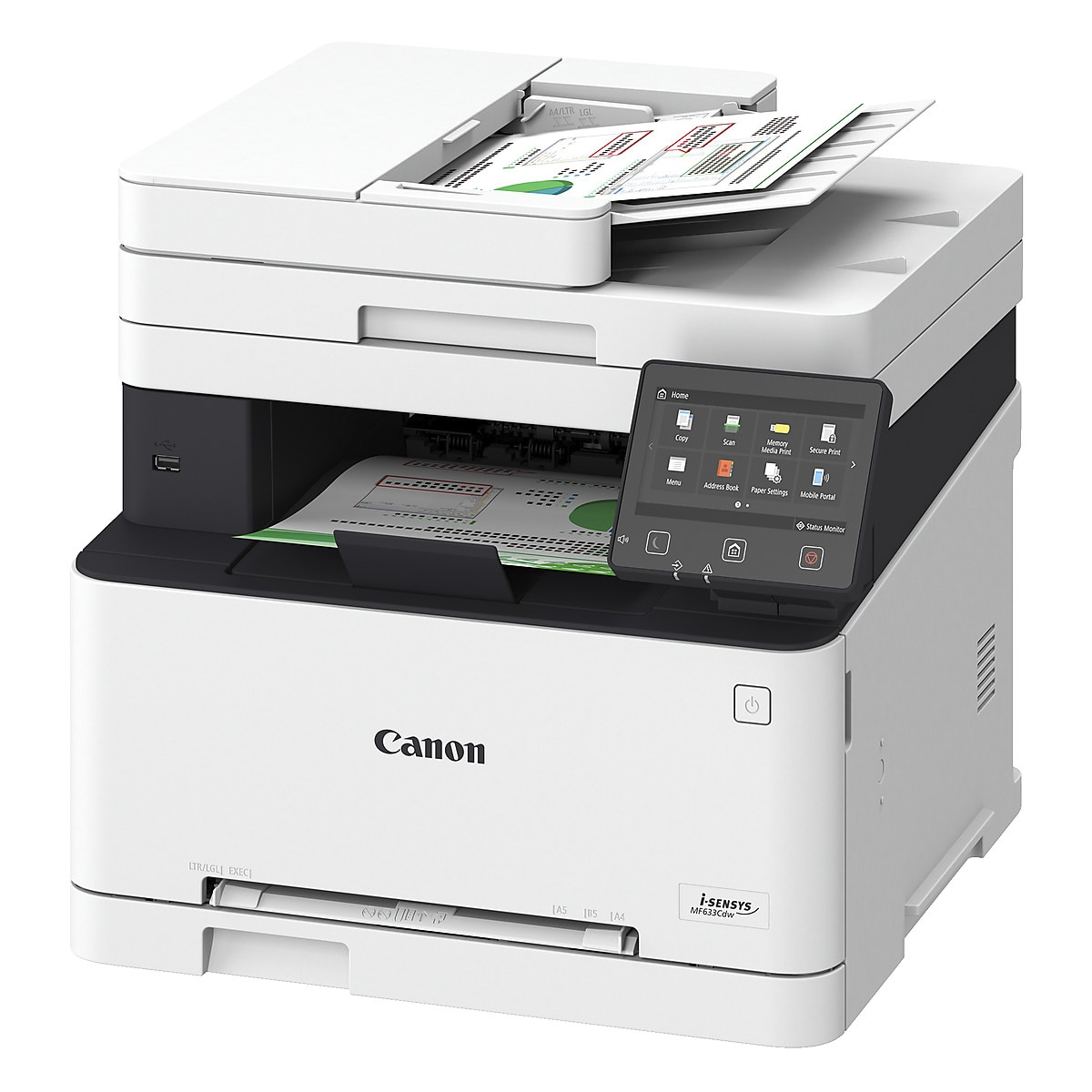 Canon i-Sensys MF633CDW Laser Printer