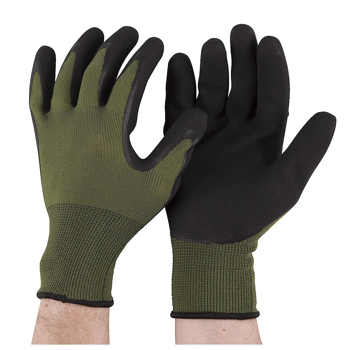 Latexhandskar grön
