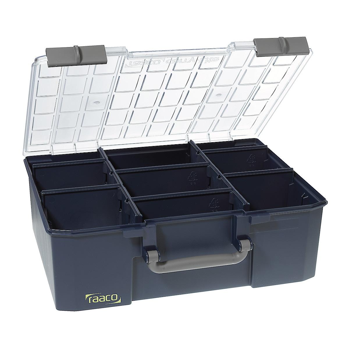 Säilytyslaatikko CarryLite 150-9, Raaco