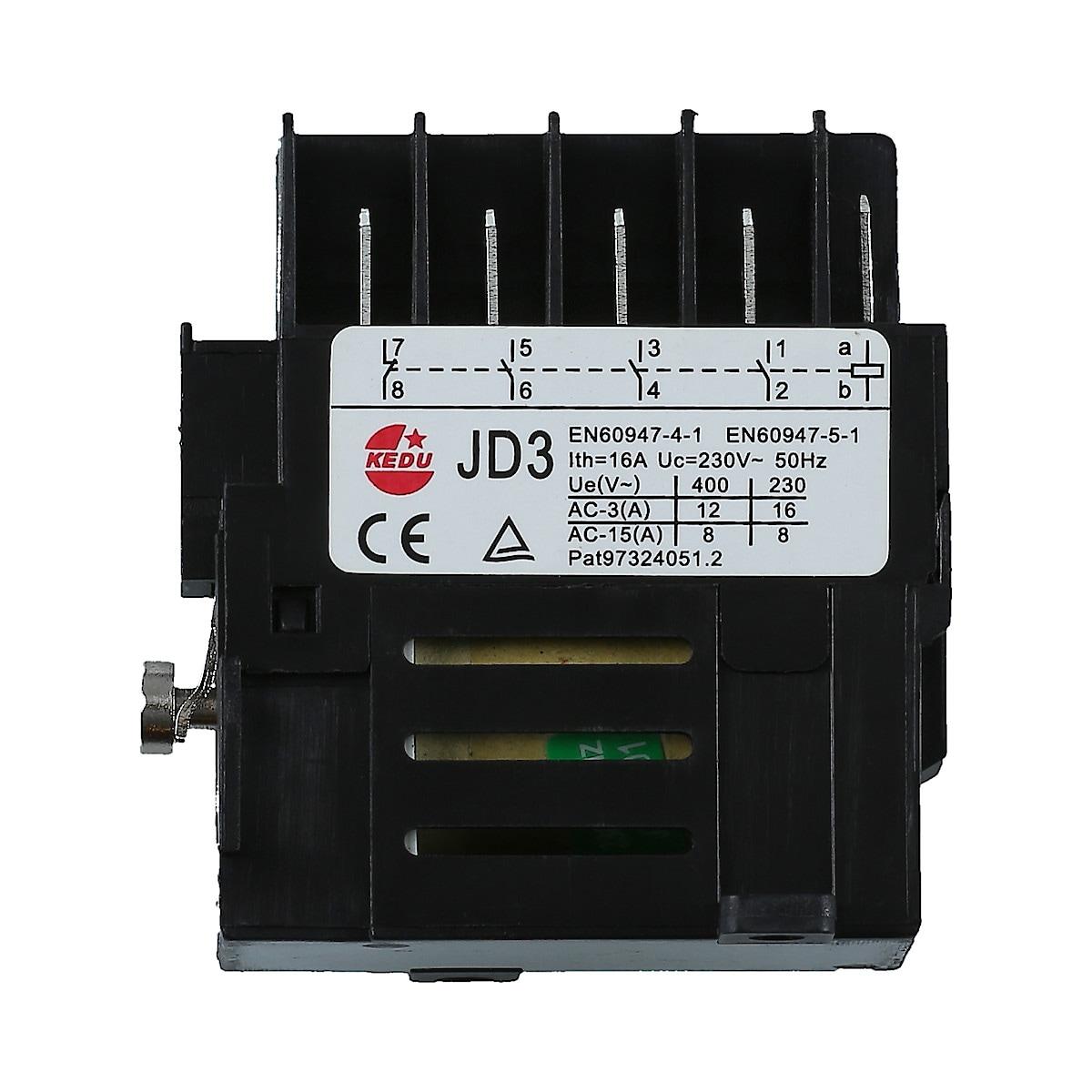 Strömbrytare JD3 230/400 V