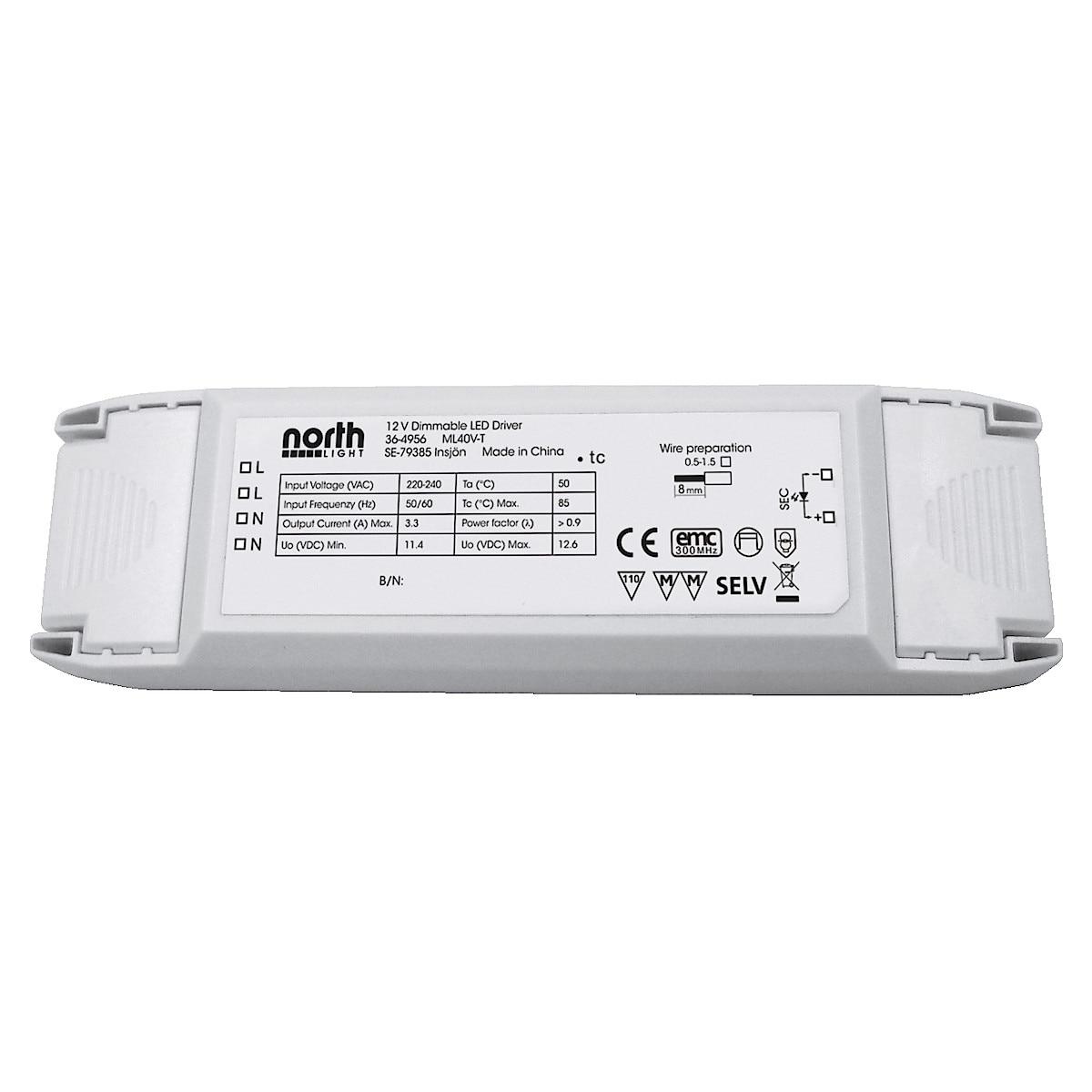 Dimringsbar LED-driver Northlight
