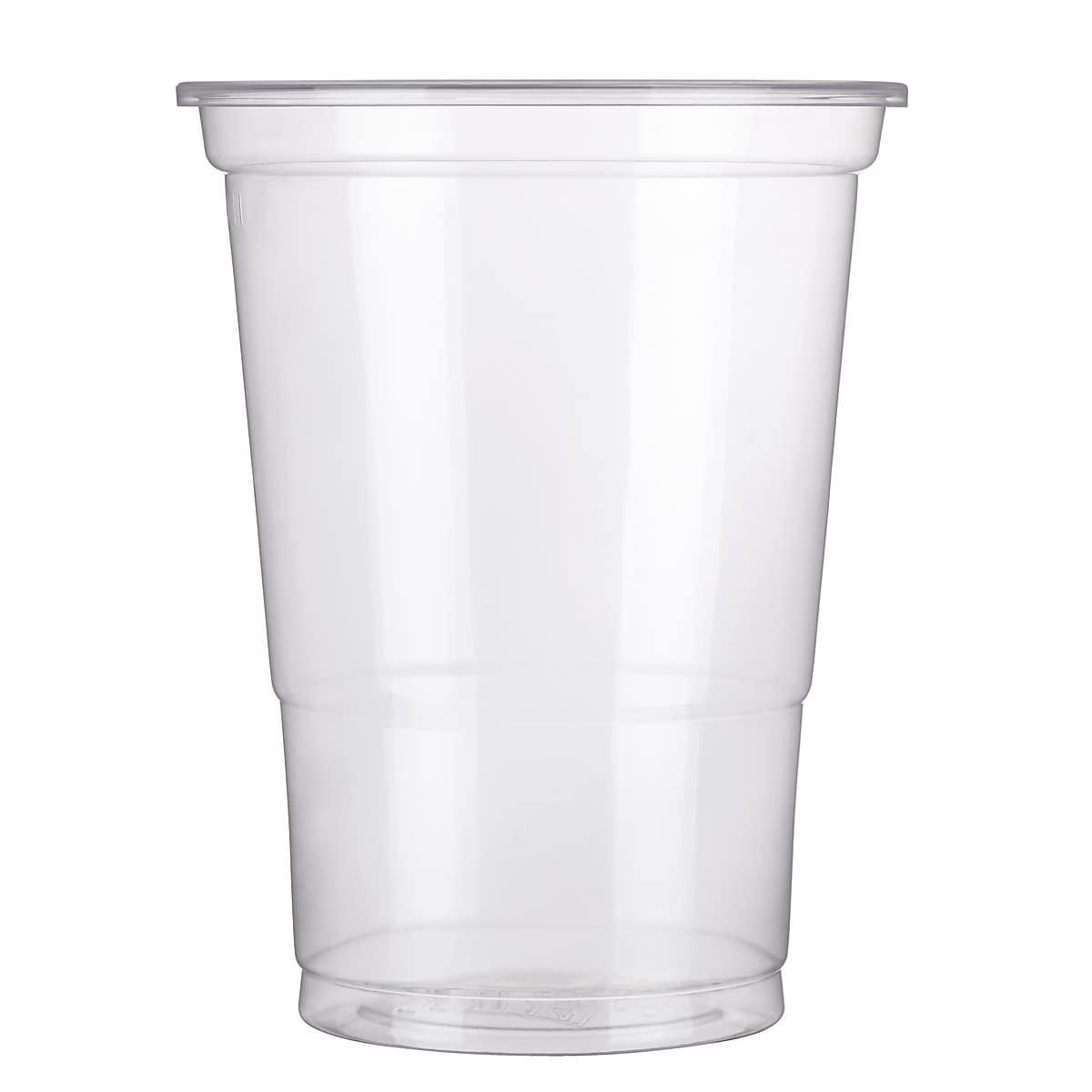 Plastglass øl 40 cl