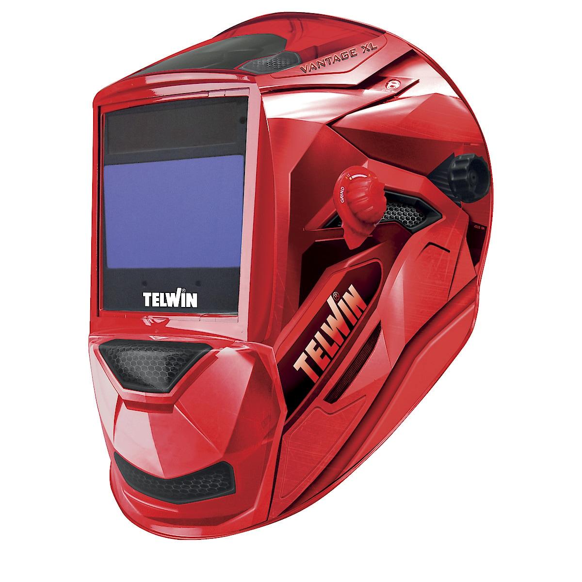 Svetshjälm Telwin Vantage Red XL