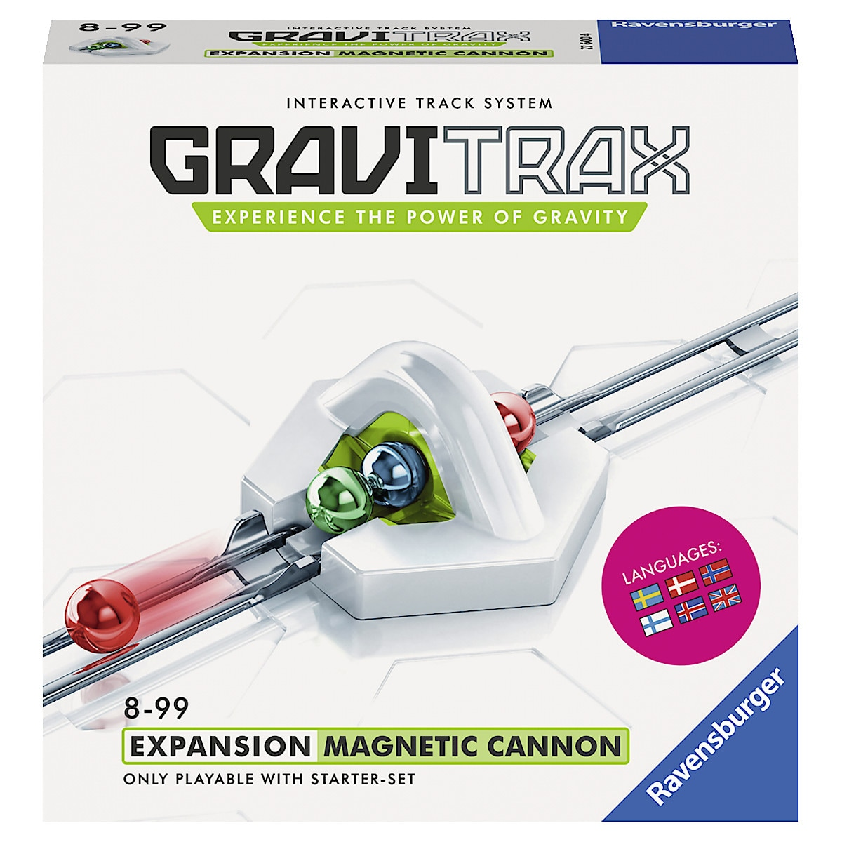 GraviTrax Expansion Magnetic Cannon, Ravensburger