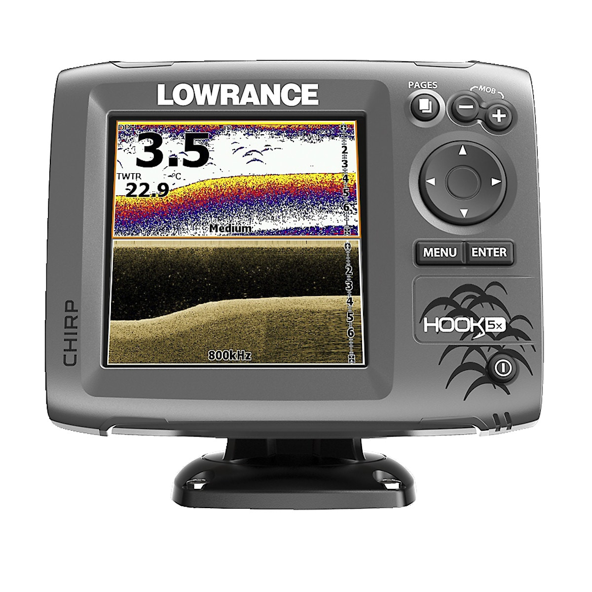 Echolot Lowrance Hook-5x