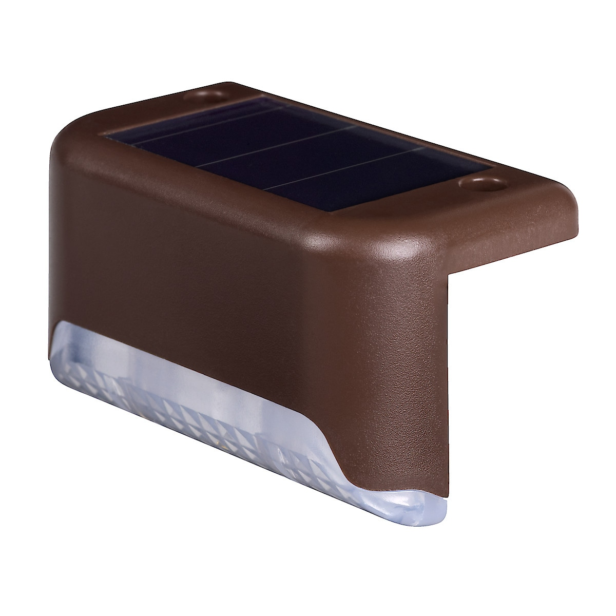 Solcellebelysning for rekkverk