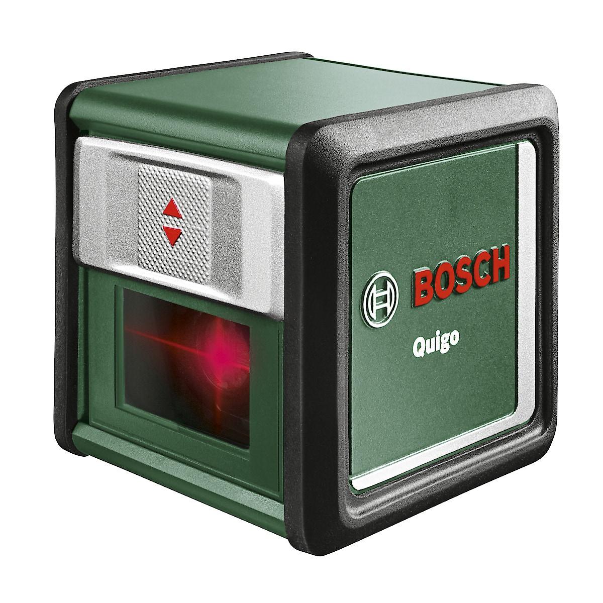 Bosch Quigo III, krysslaser