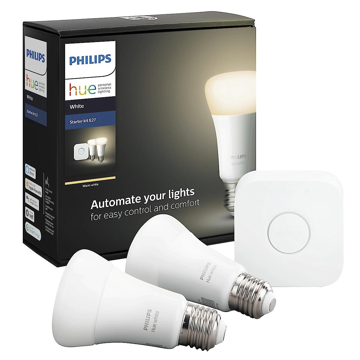 Philips Hue White Startpaket E27, Bluetooth