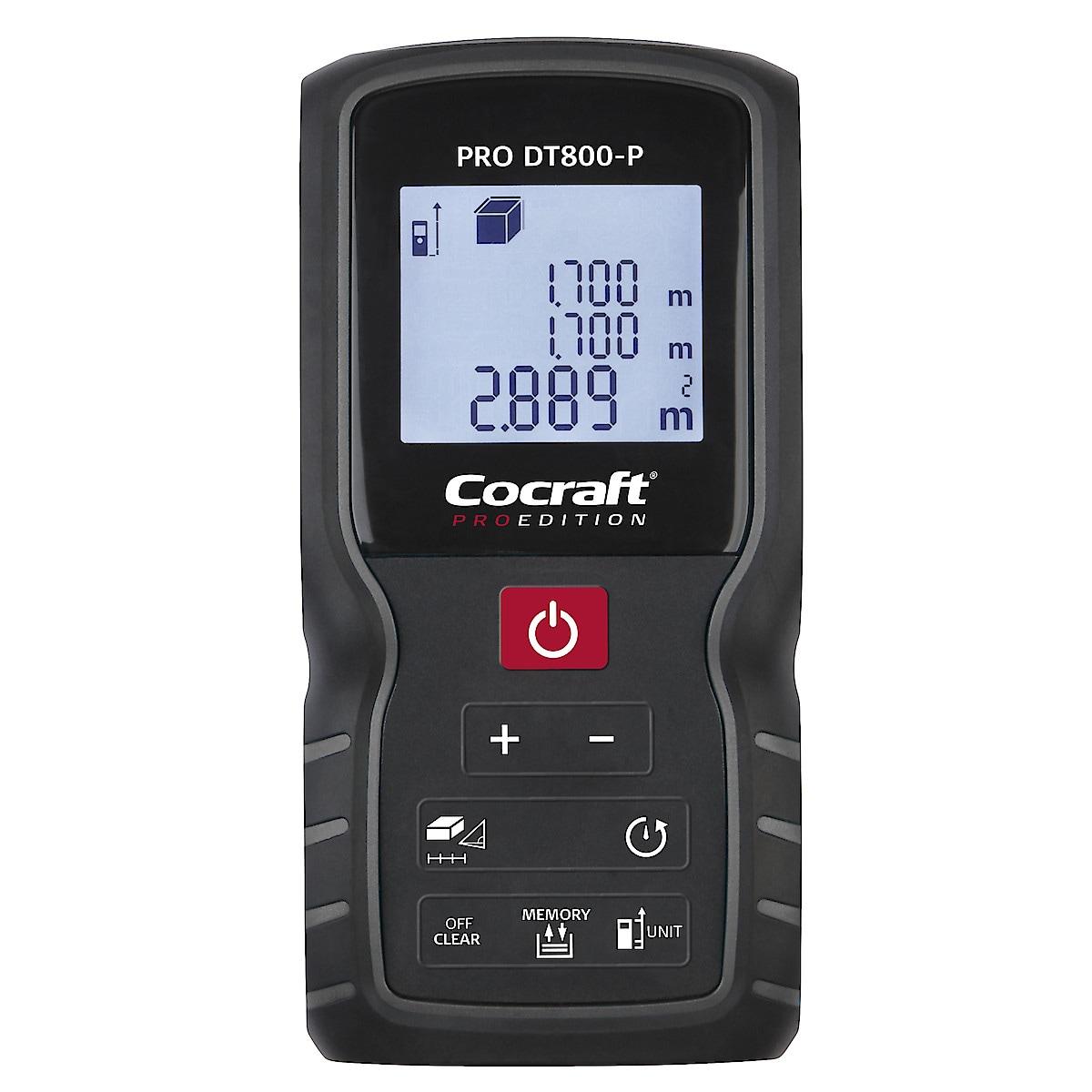 Etäisyysmittari Cocraft PRO Edition DT800-P