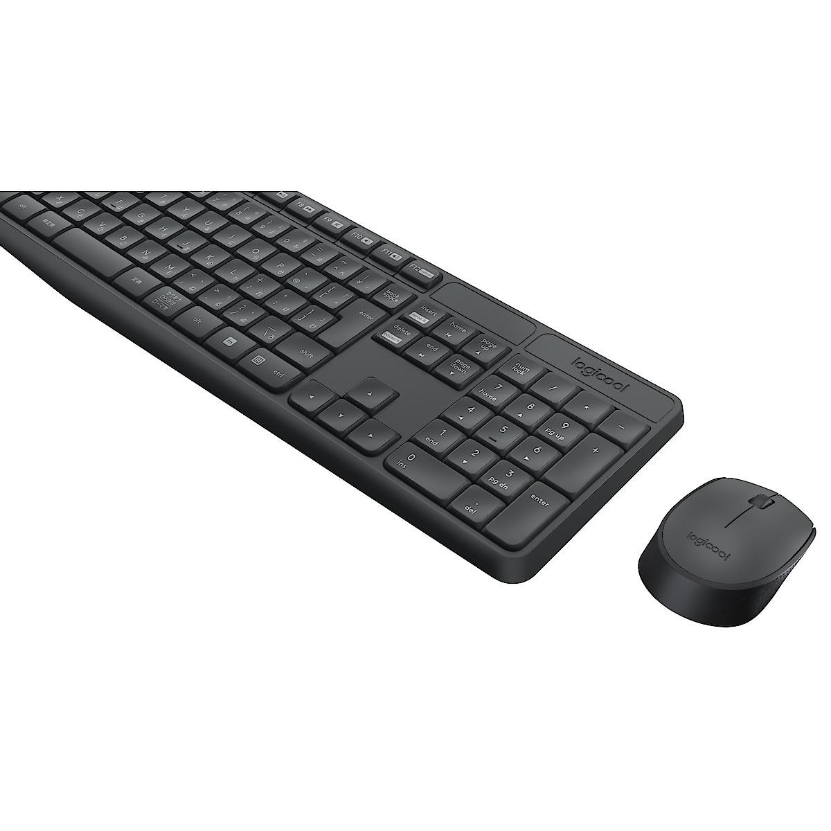 Trådløst tastatur og mus | Clas Ohlson