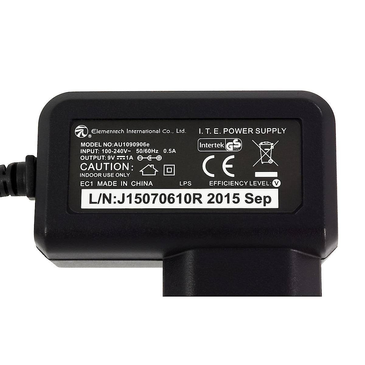 Nätadapter Electia 9 V/1 A