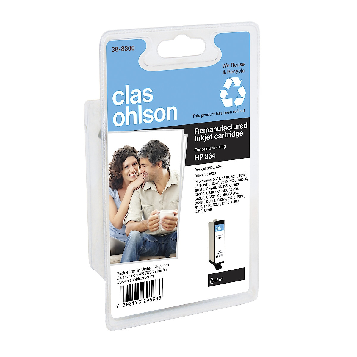 Clas Ohlson HP 364 Ink Cartridge